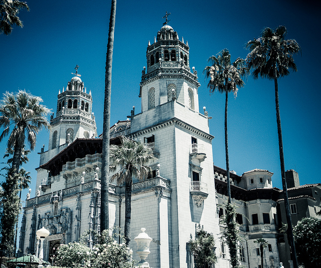 Hearst Castle. Photo credit Beedie Savage. Creative Commons BY-NC 2.0
